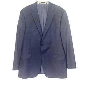 Hickey Freeman Men's Navy Blue Blazer